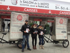 Villopub agence de communication et de street marketing for Reduction salon de la moto